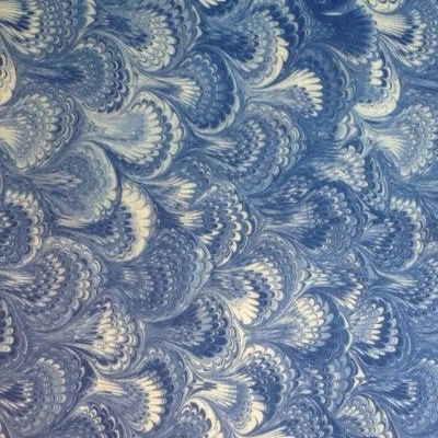 """Tania Vartan """"Feathers"""" in Blue & White"""