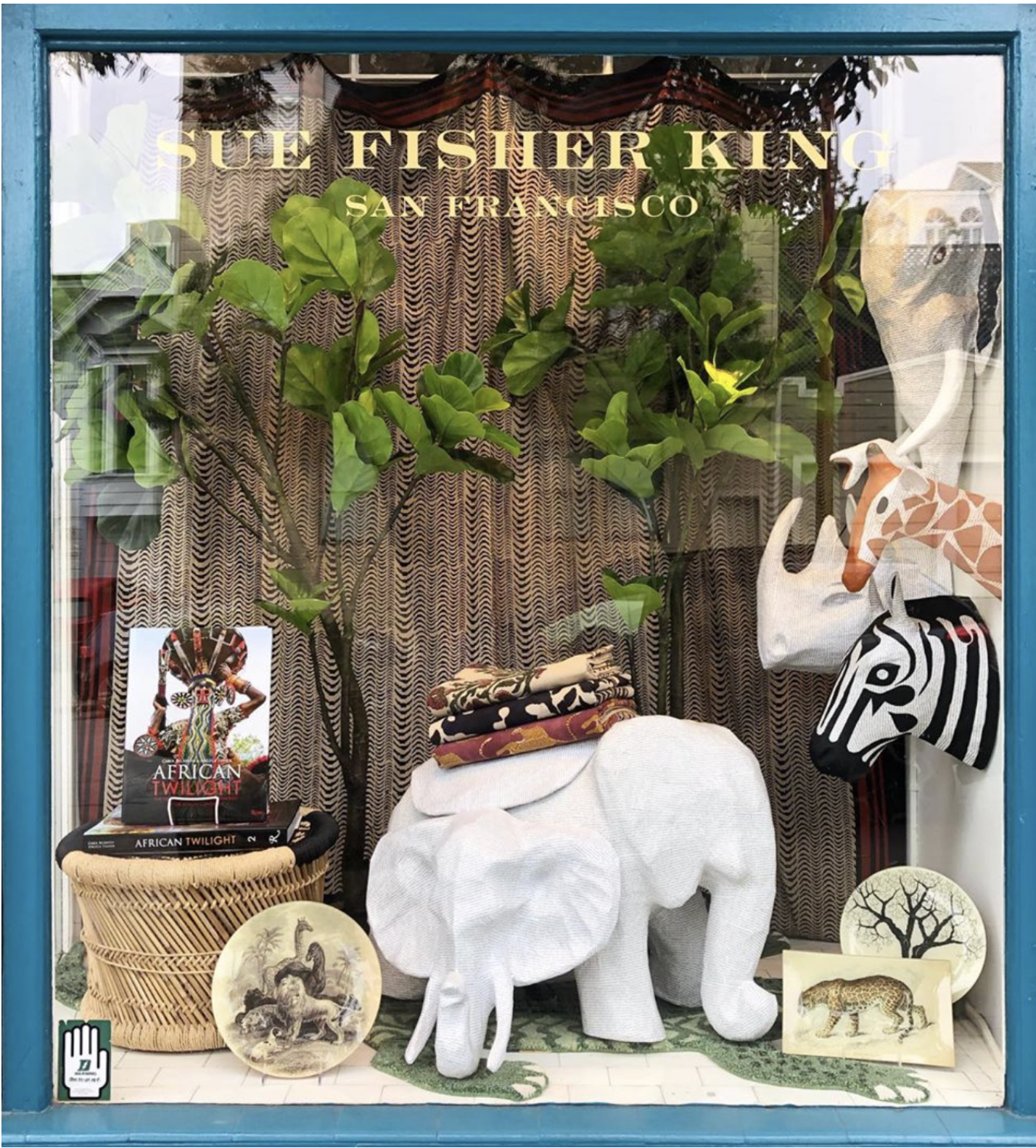 Sue Fisher King - A San Francisco landmark for 40 years, SFK offers a curated story of many journeys around the world. A destination to discover artisanal objects and accessories sourced with a passion for uncovering lovely and unique treasures with a touch of whimsy from tabletop to textiles.Must Buy: adorable baby clothes, Arcades & Mak handmade French dinnerware, Porthault handkerchiefsvisit website