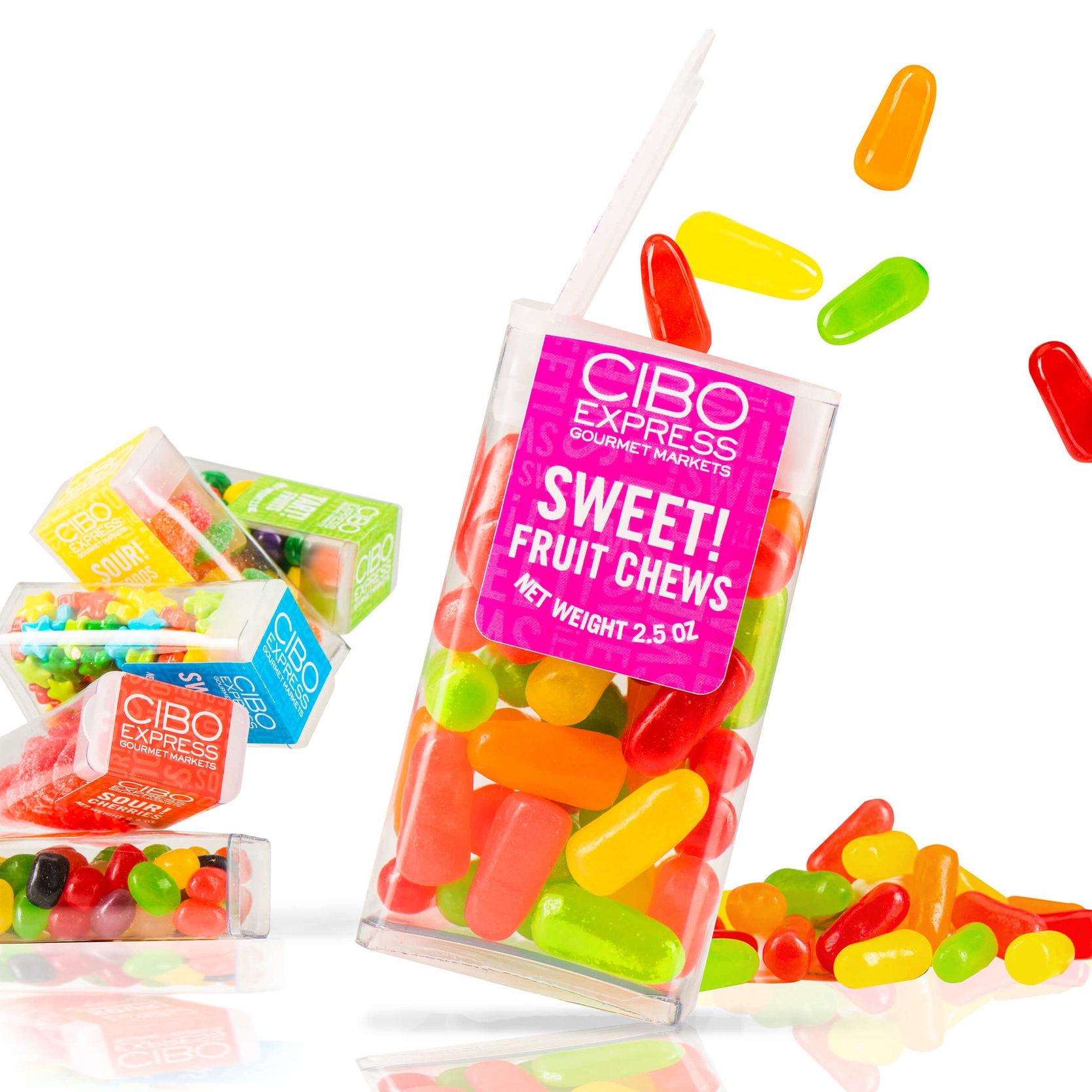 SGR & Cibo Packaging -