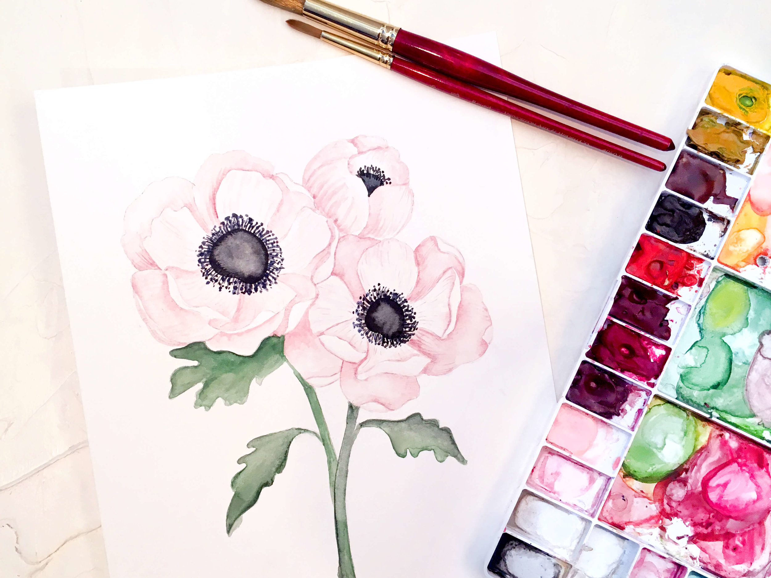 Watercolor/Illustrations - Our watercolors and illustrations are personalized to match your theme, venue, bouquet, etc. These are unique to you, so we won't ever re-use or repurpose them.