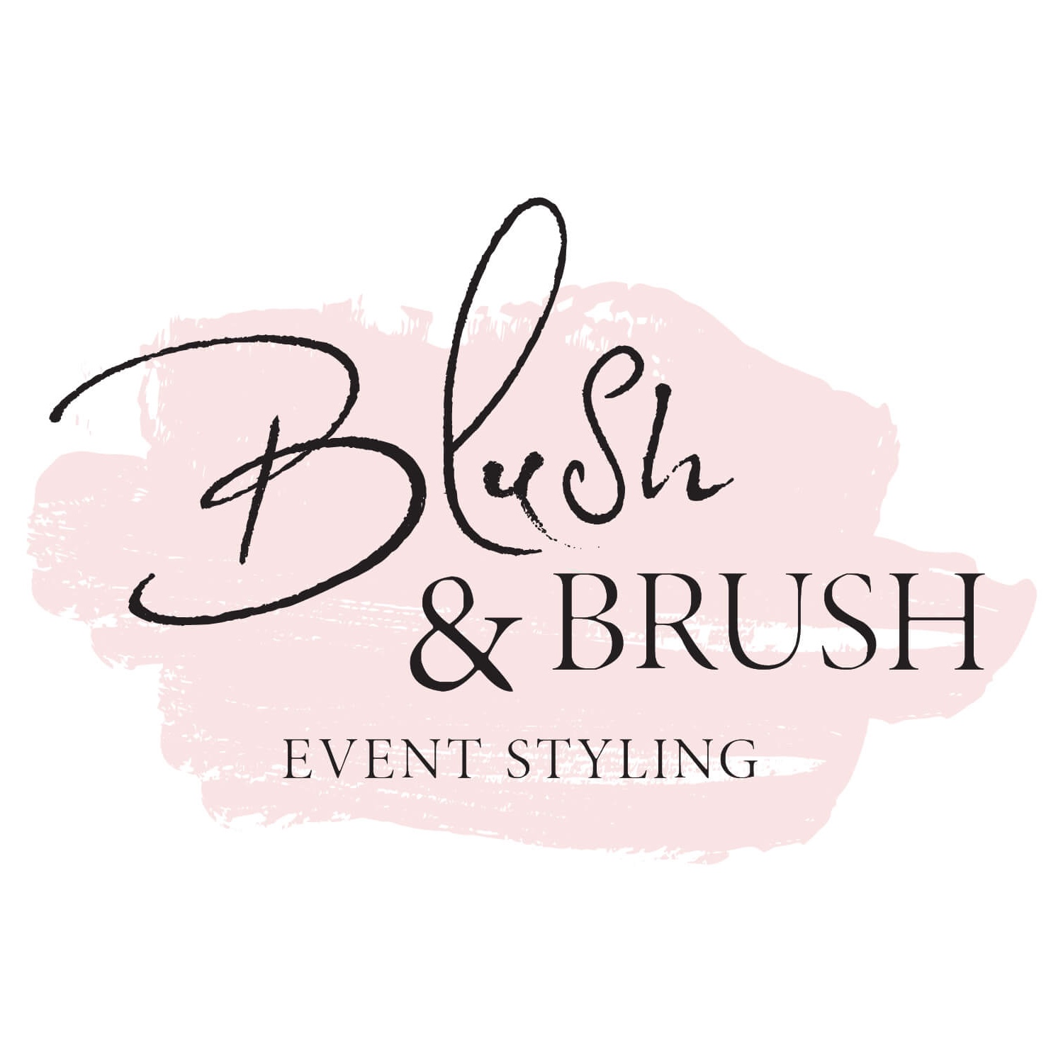Blush & Brush Logo & Branding -