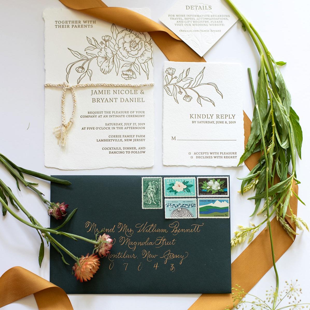Custom Wedding Invitation Suites