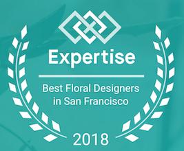 B&B Floral Expertise Award Winner 2018