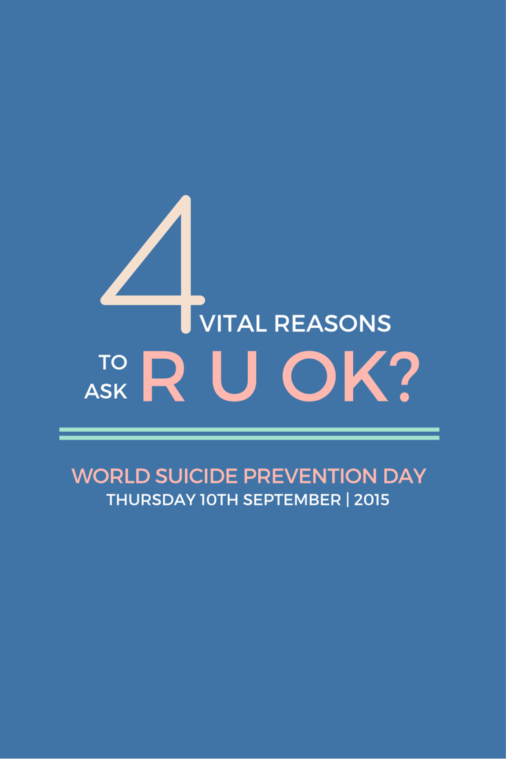 R U OK World Suicide Prevention Day 2015