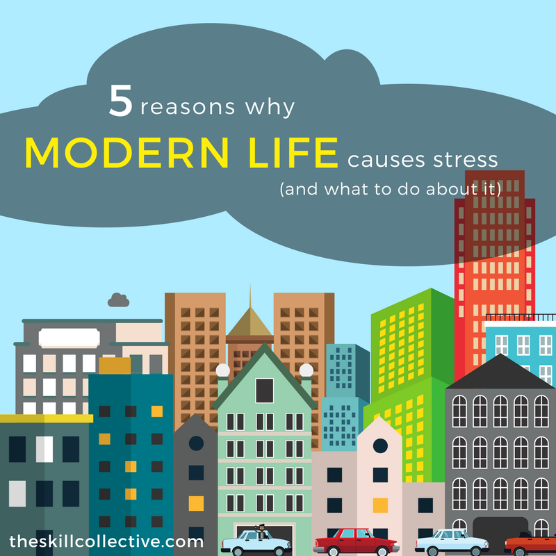 psychologist counselling subiaco perth why modern life causes stress management work