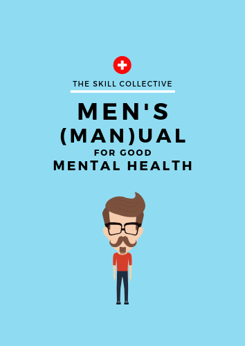 Mens mental health man box anxiety depression counsellor psychologist per