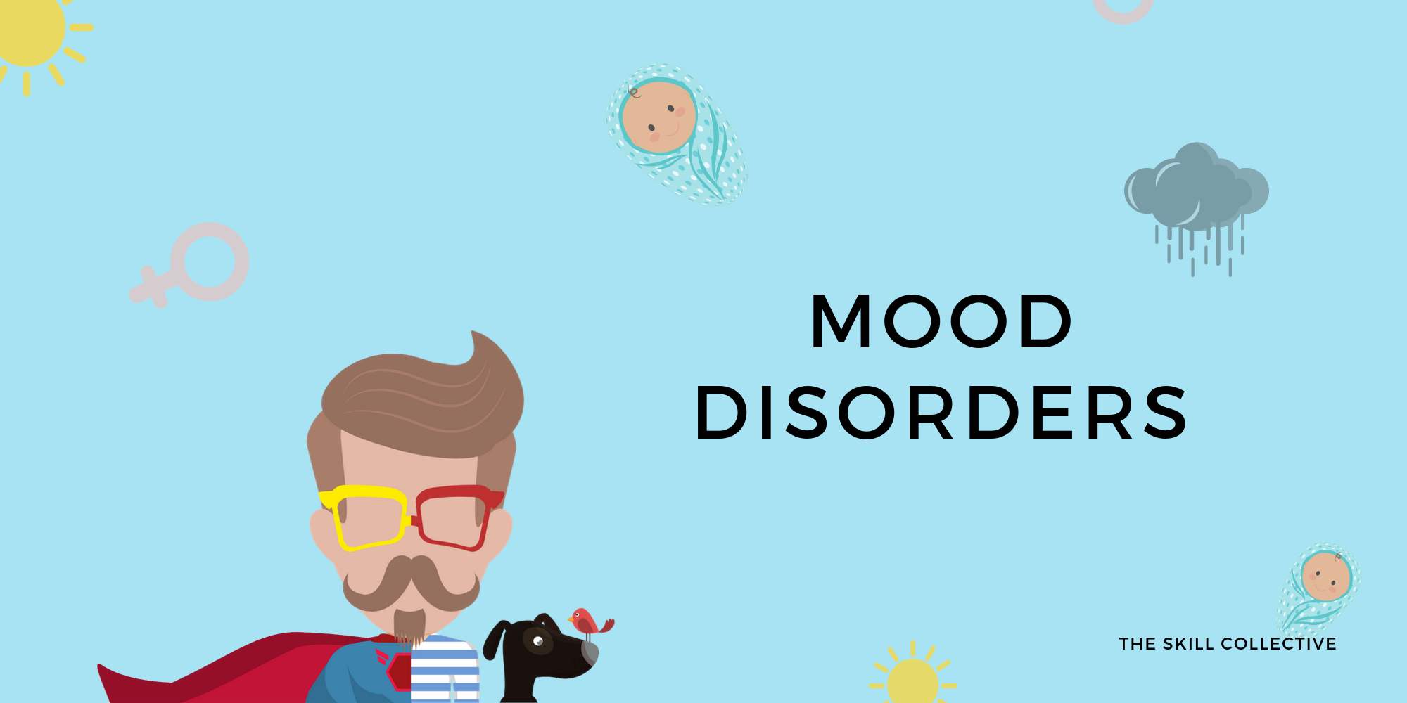 Depression and mood disorders symptoms and treatment by The Skill Collective in Subiaco Perth