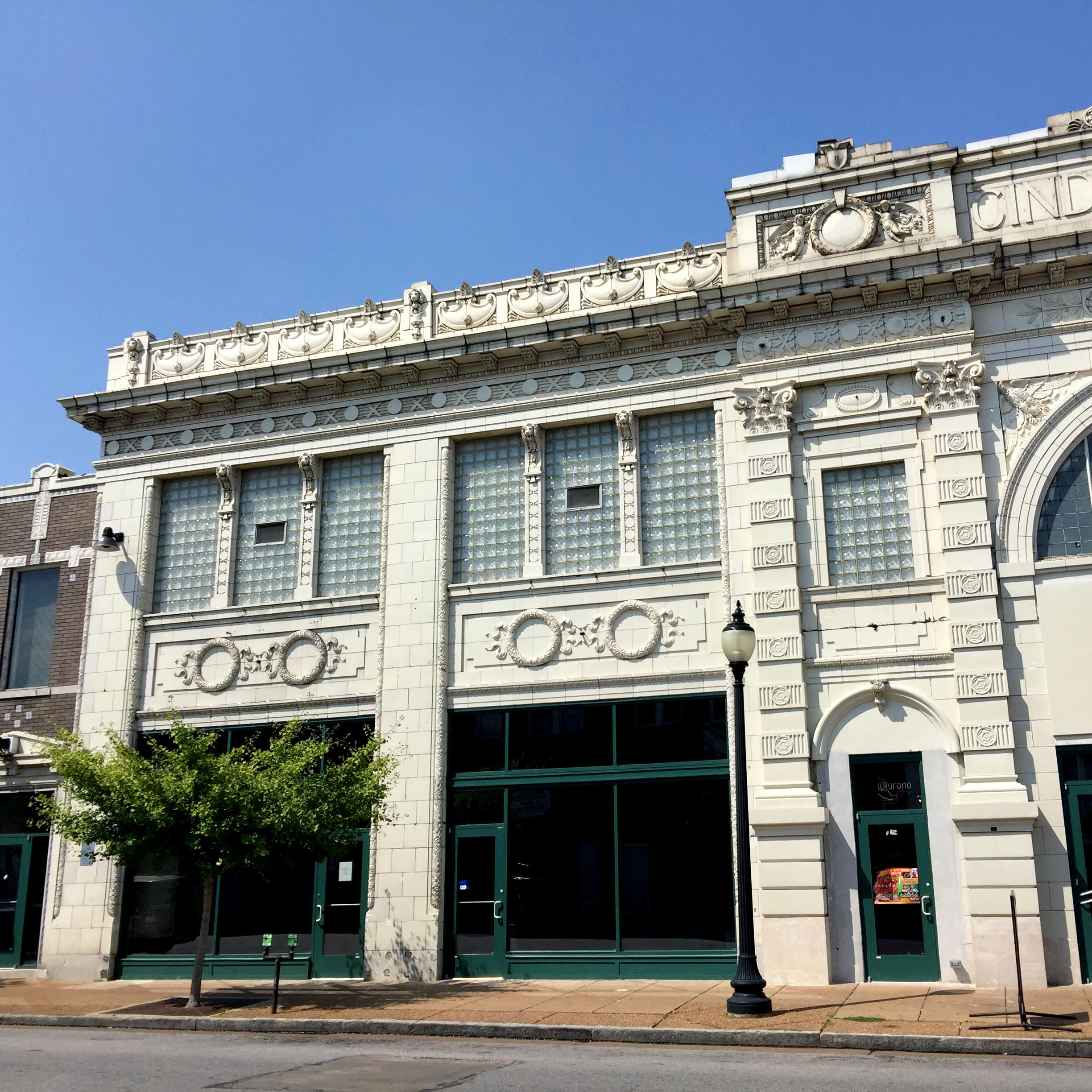 The Cinderella building on Cherokee Street.  Our future home!