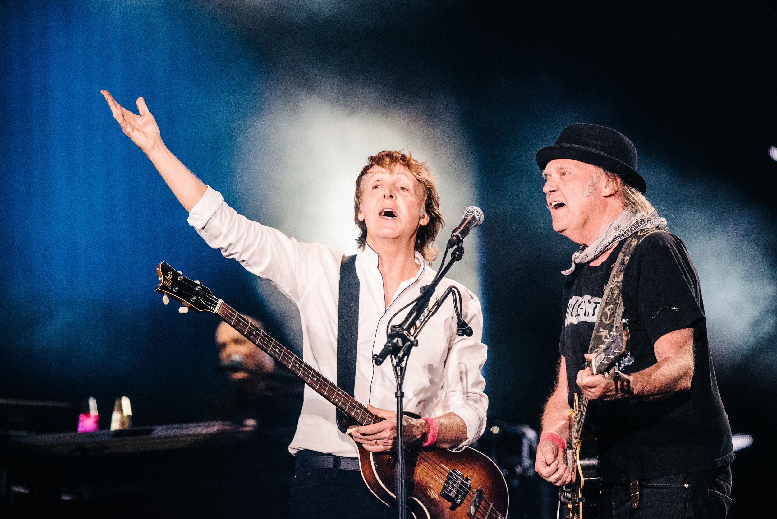 Paul McCartney & Neil Young