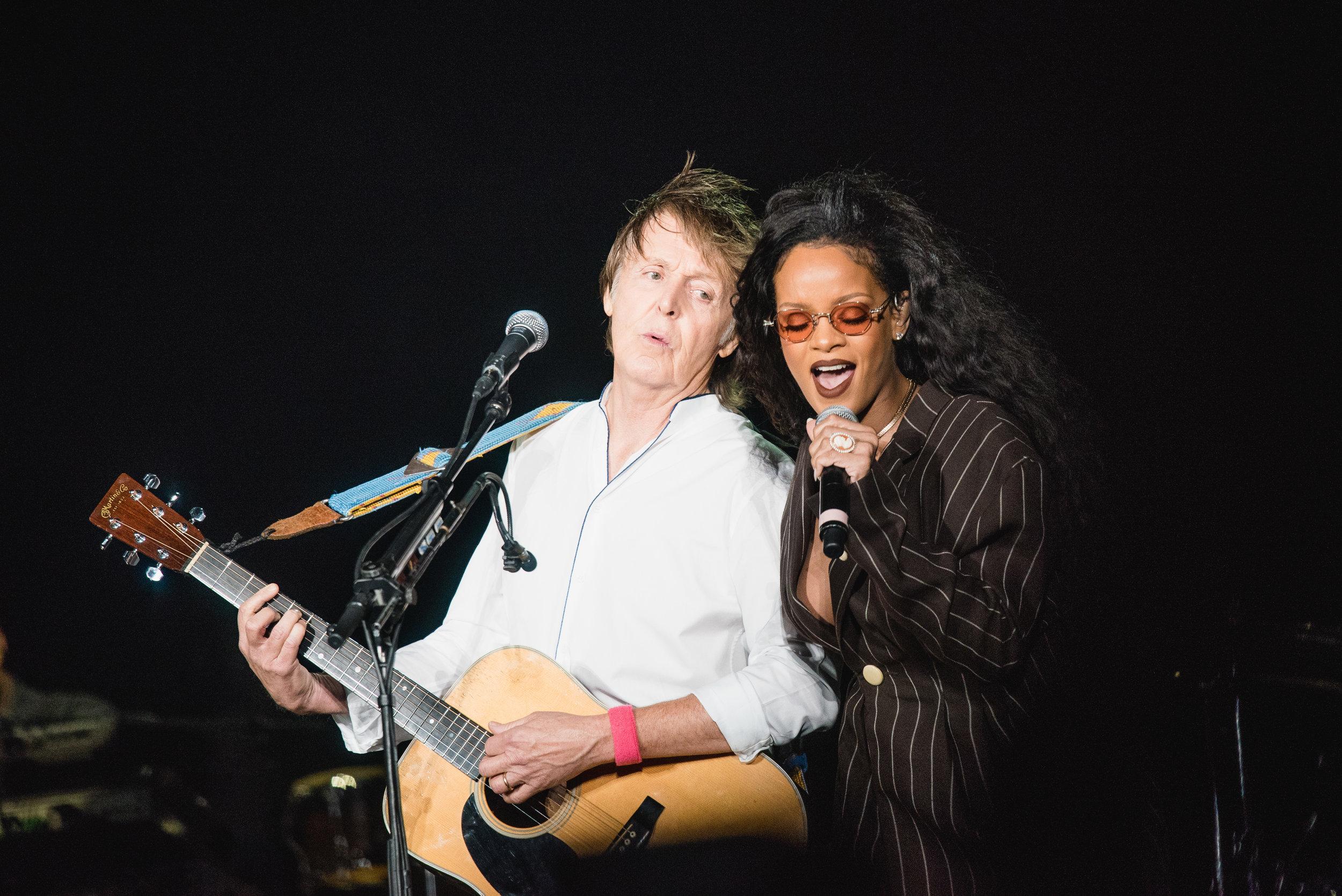 Paul McCartney & Rihanna