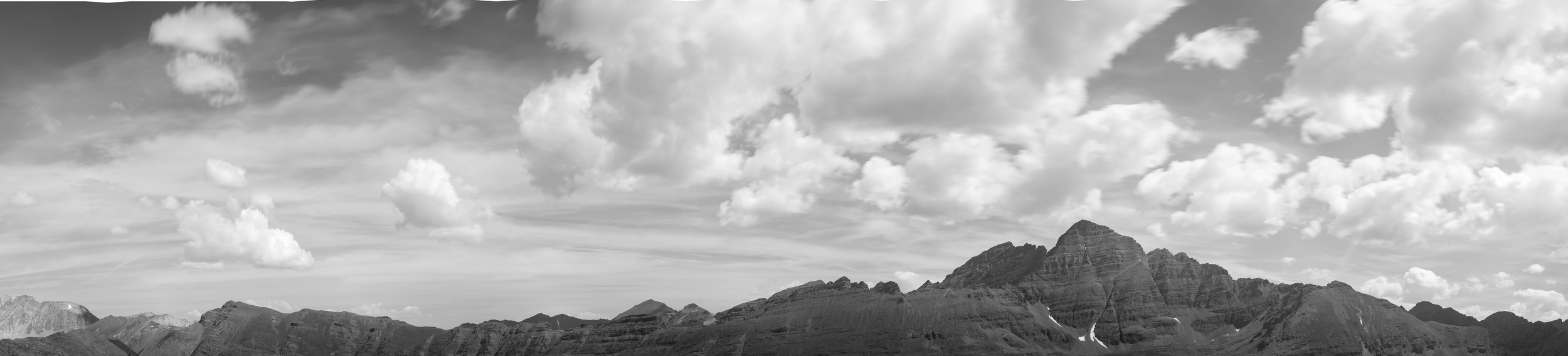 Backside of Maroon Peak shot at F.16 13 sec