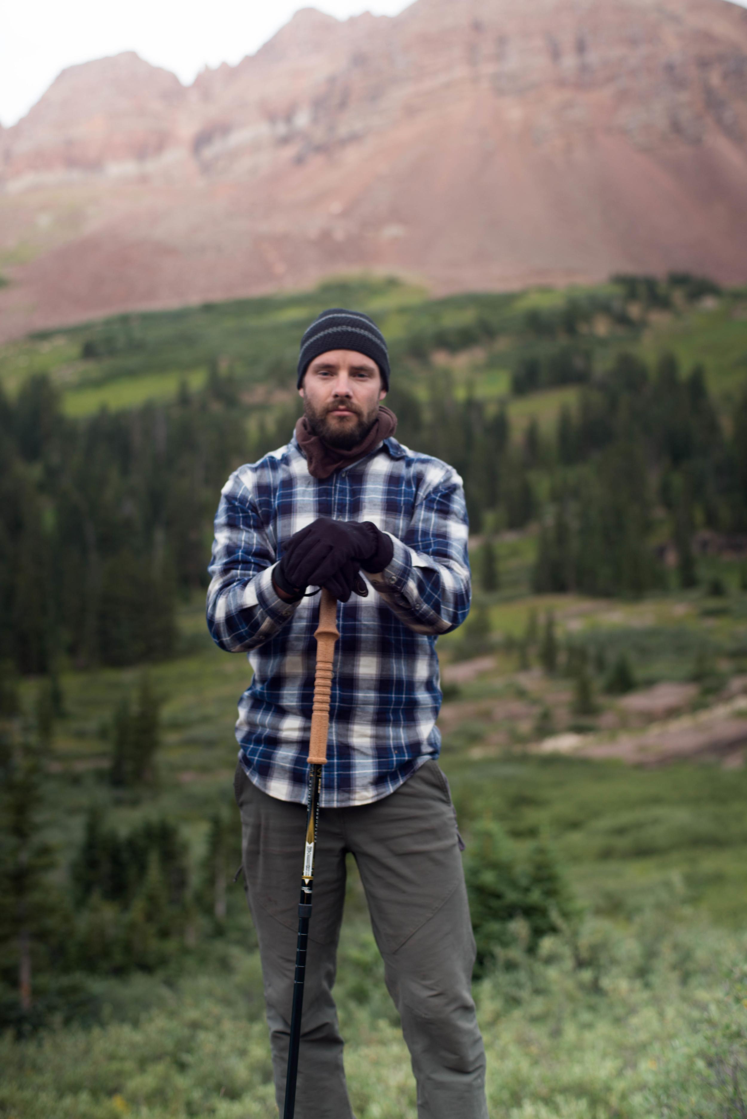 Fellow Backpacker, Travis Axe