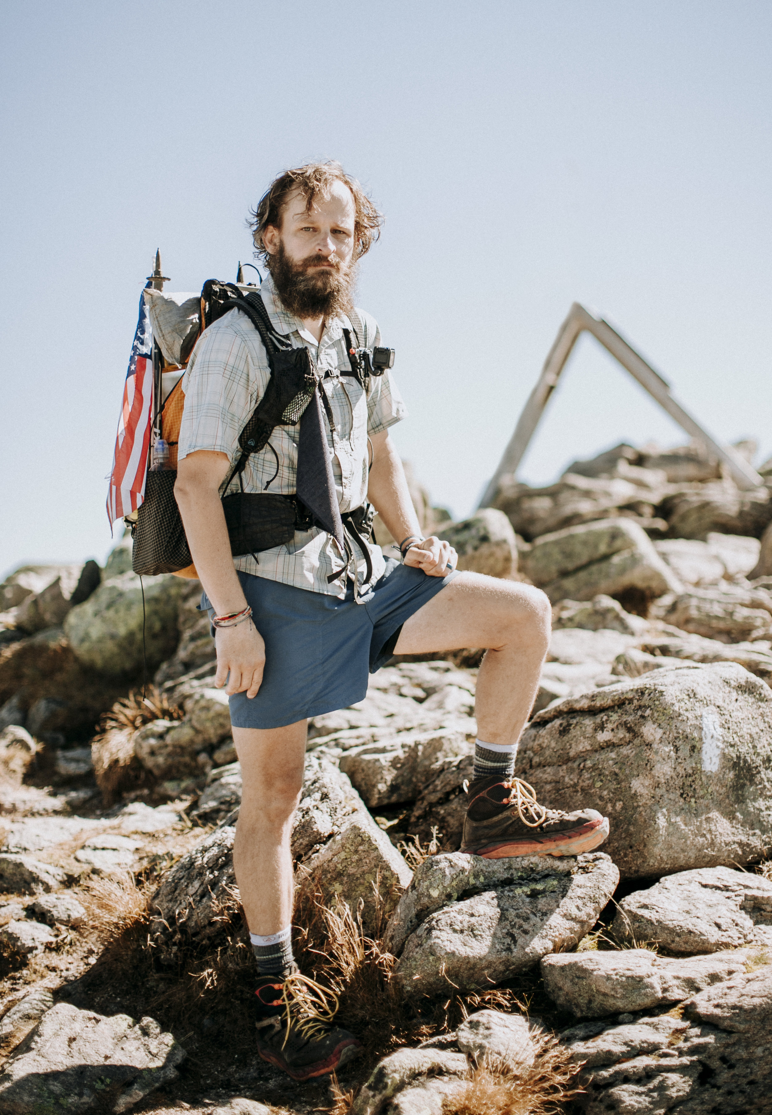 """I went to college in north Georgia, not far from Springer Mountain. I hiked with friends in college, and they went on and had the time to hike the trail back in the mid '90s, so it had always been on my mind. I talked about it more and more as I got into my 40s, and I got a chance to have some time away from work about a year ago."" With tears in his eyes, Michael continued: ""My wife basically told me I need to put up or shut up, so I put up. Here I am six months later. I did it for the adventure. It was everything I expected. It was an absolute adventure. Well worth it. What is next? Man, tha'ts harder than deciding to hike the trail. I don't have a job lined up when I get home, but my wife has been extremely supportive."""