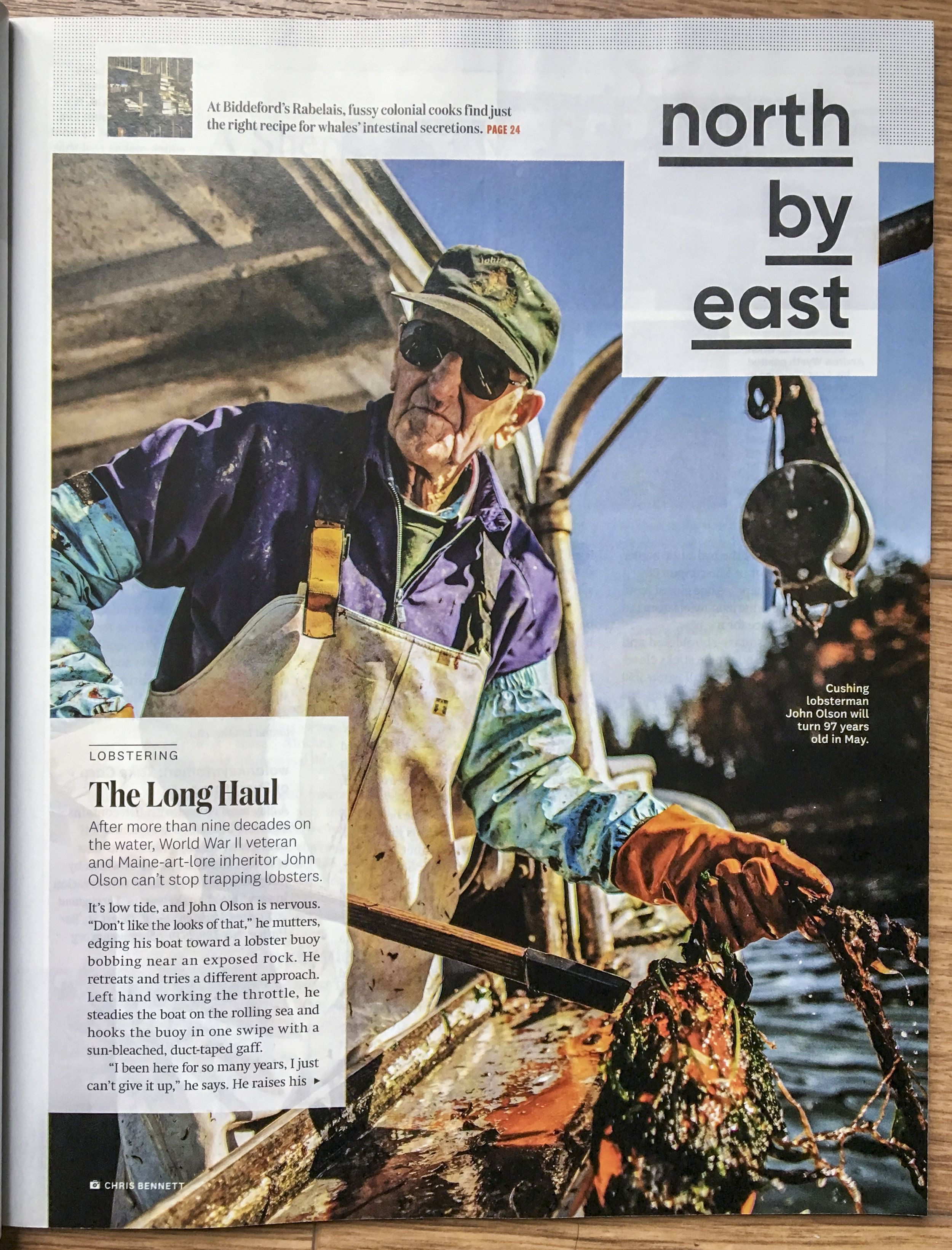 Downeast Magazine, May 2019