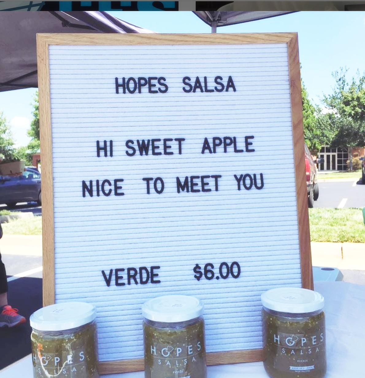 Sweet Apple Farmers Market | August - September, 2017