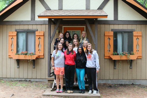 Some of our guests enjoy staying in one of our nine  Rustic Cabins . These accommodations offer bunk-style sleeping and are perfect for youth groups or family reunions.