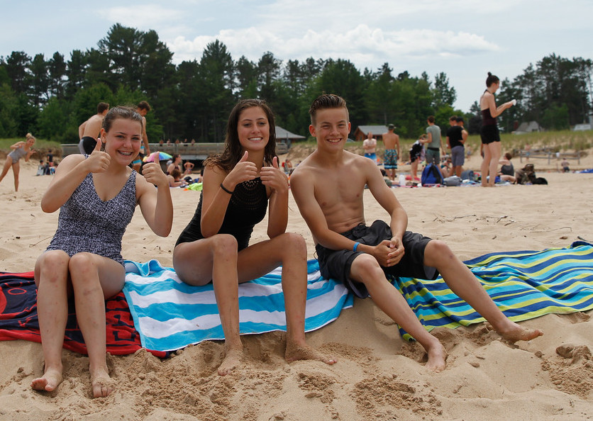 Au Train Beach -