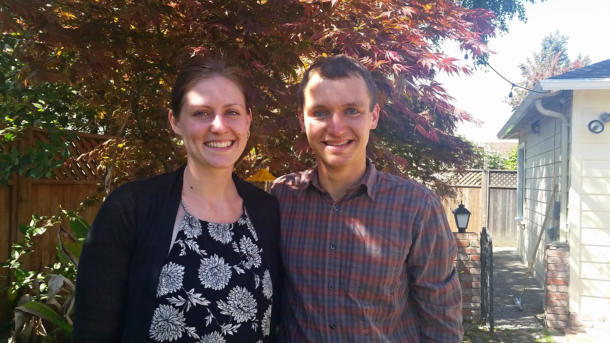 Siblings in our Easter best.