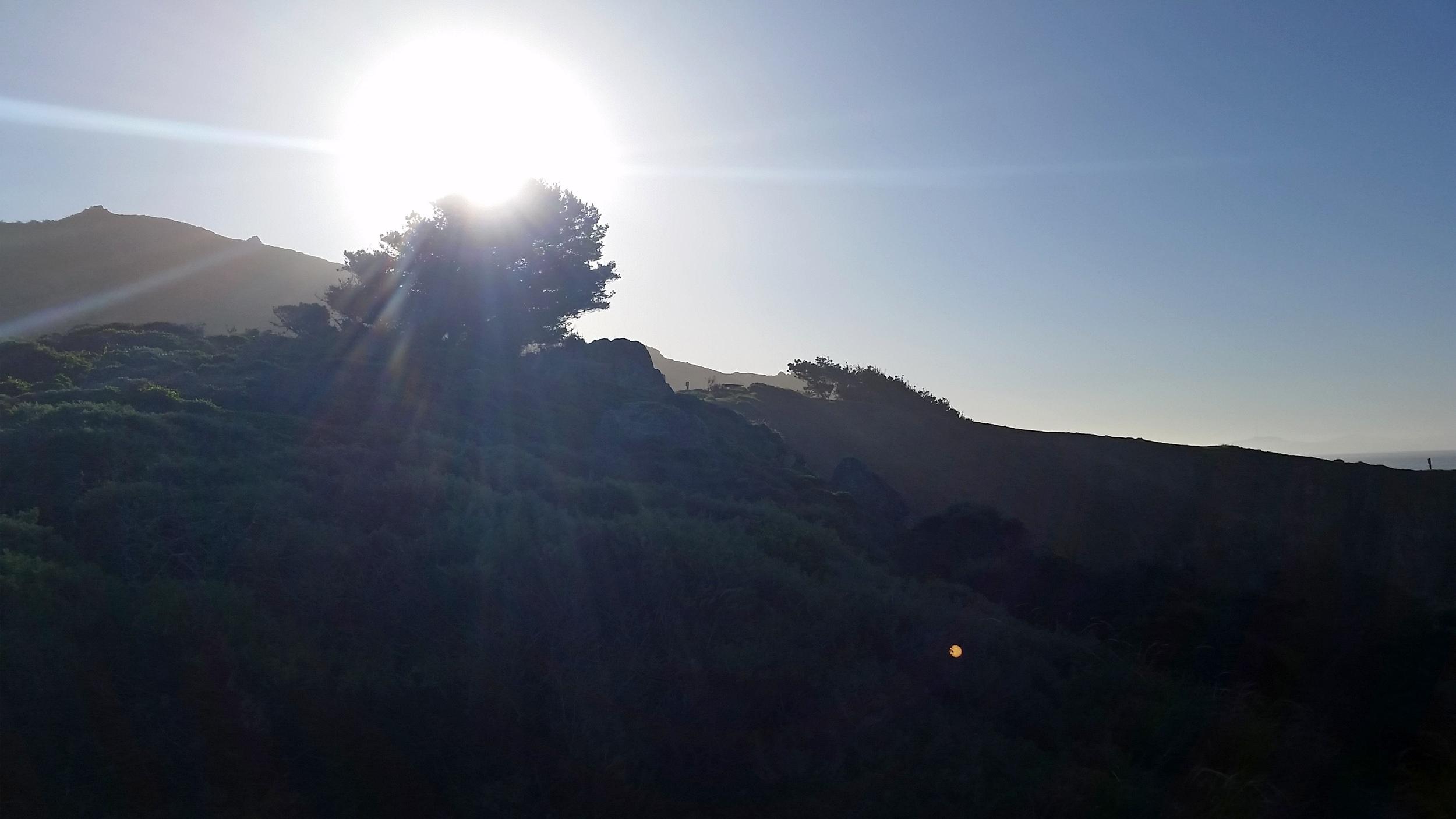 The sun also rises.