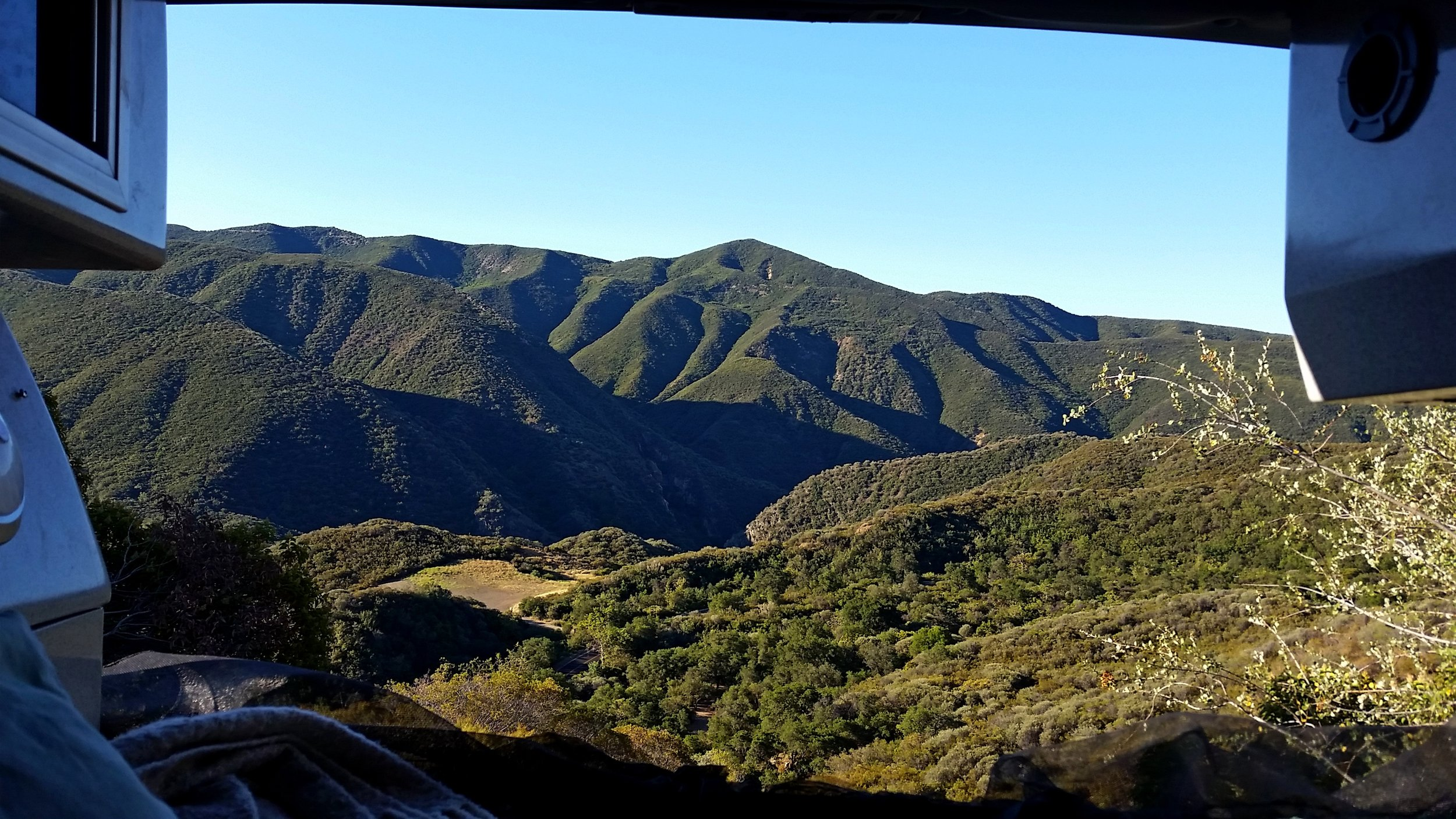 Los Padres National Forest. It ain't oceanside, but ain't bad either.