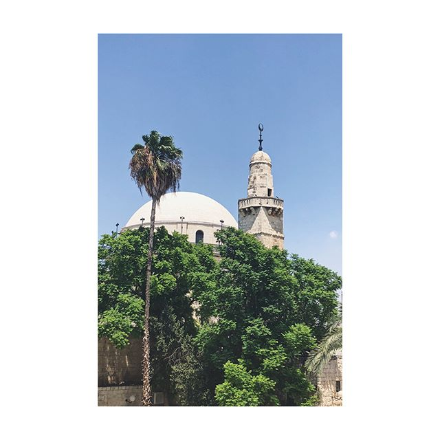 Spent a magical day in Jerusalem 💫