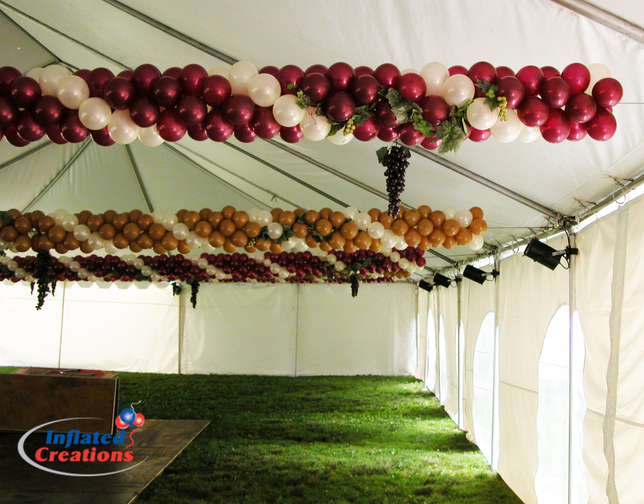 Tent Decor - Grapevine