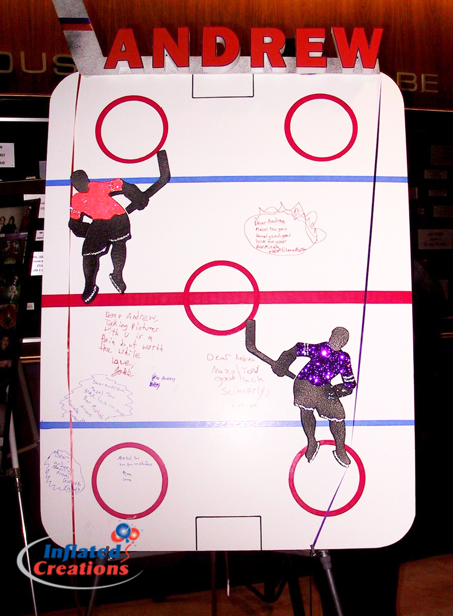 Sign-In Board - Hockey