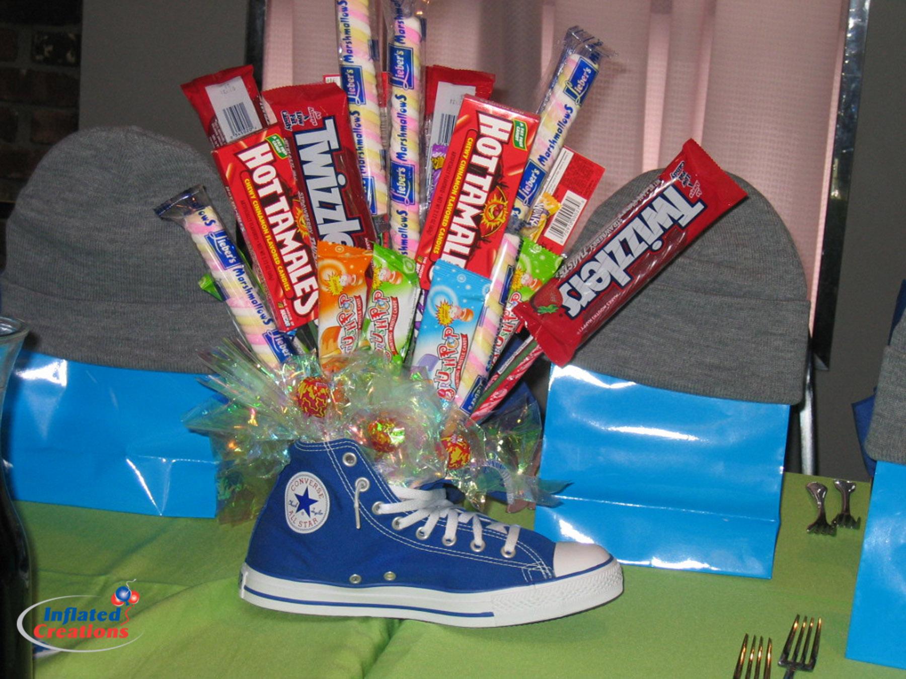 Centerpiece - Sneaker & Candy