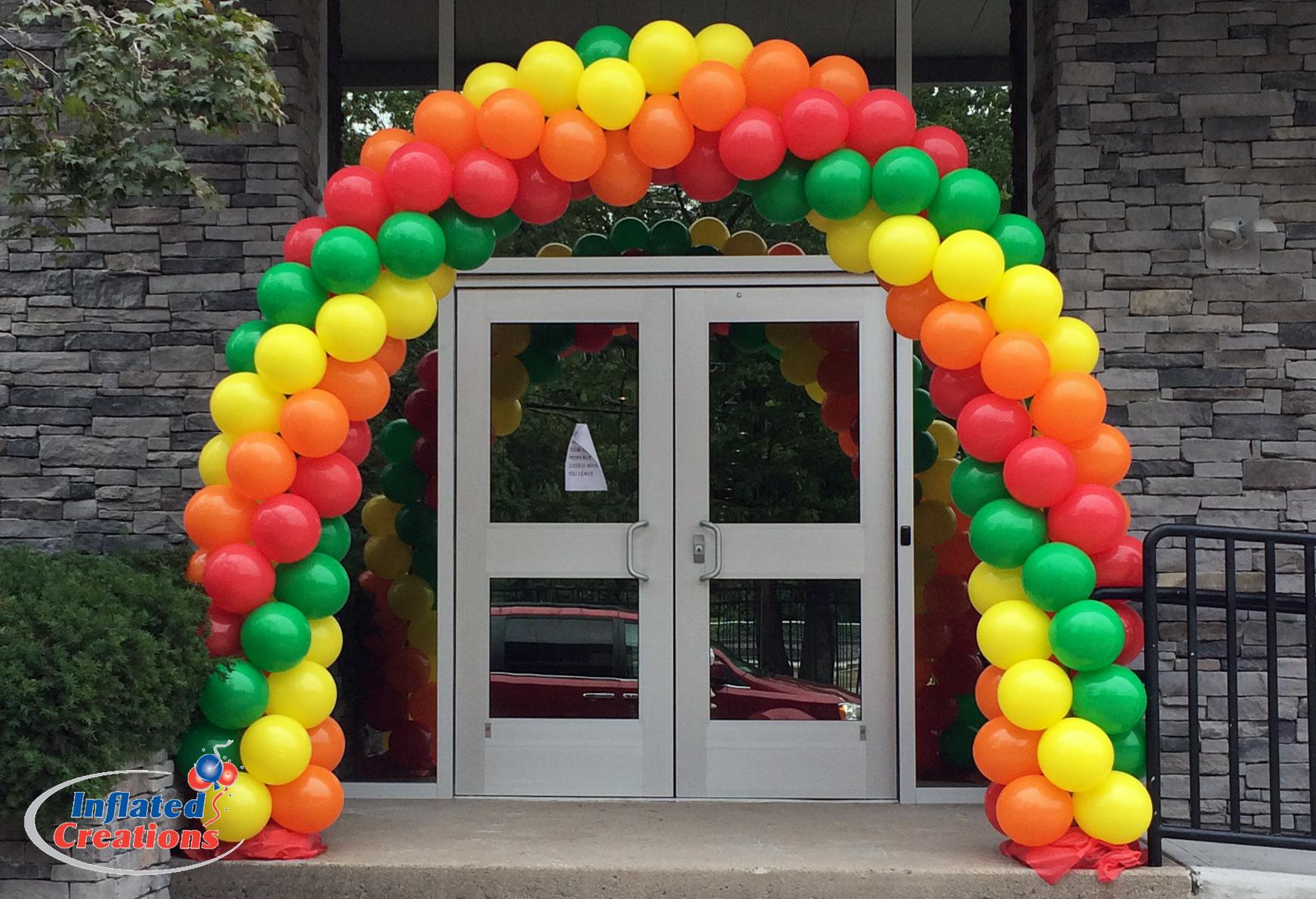 Rainbow Twist Arch