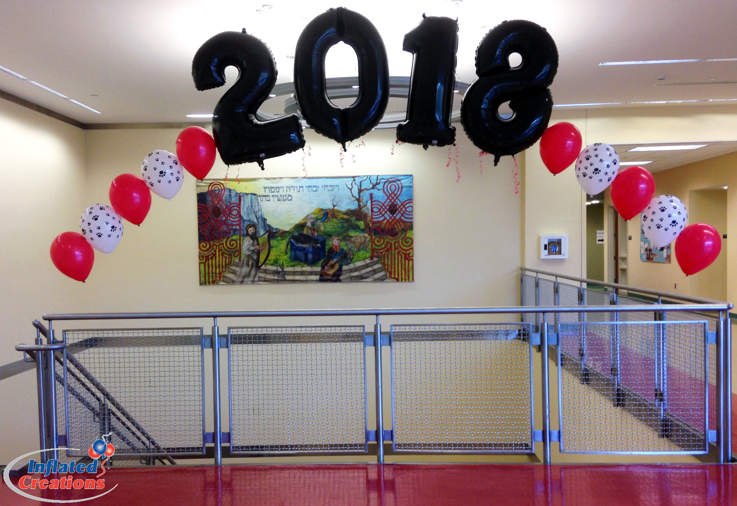 Megaloon Numbers - 2018 Balloon Arch