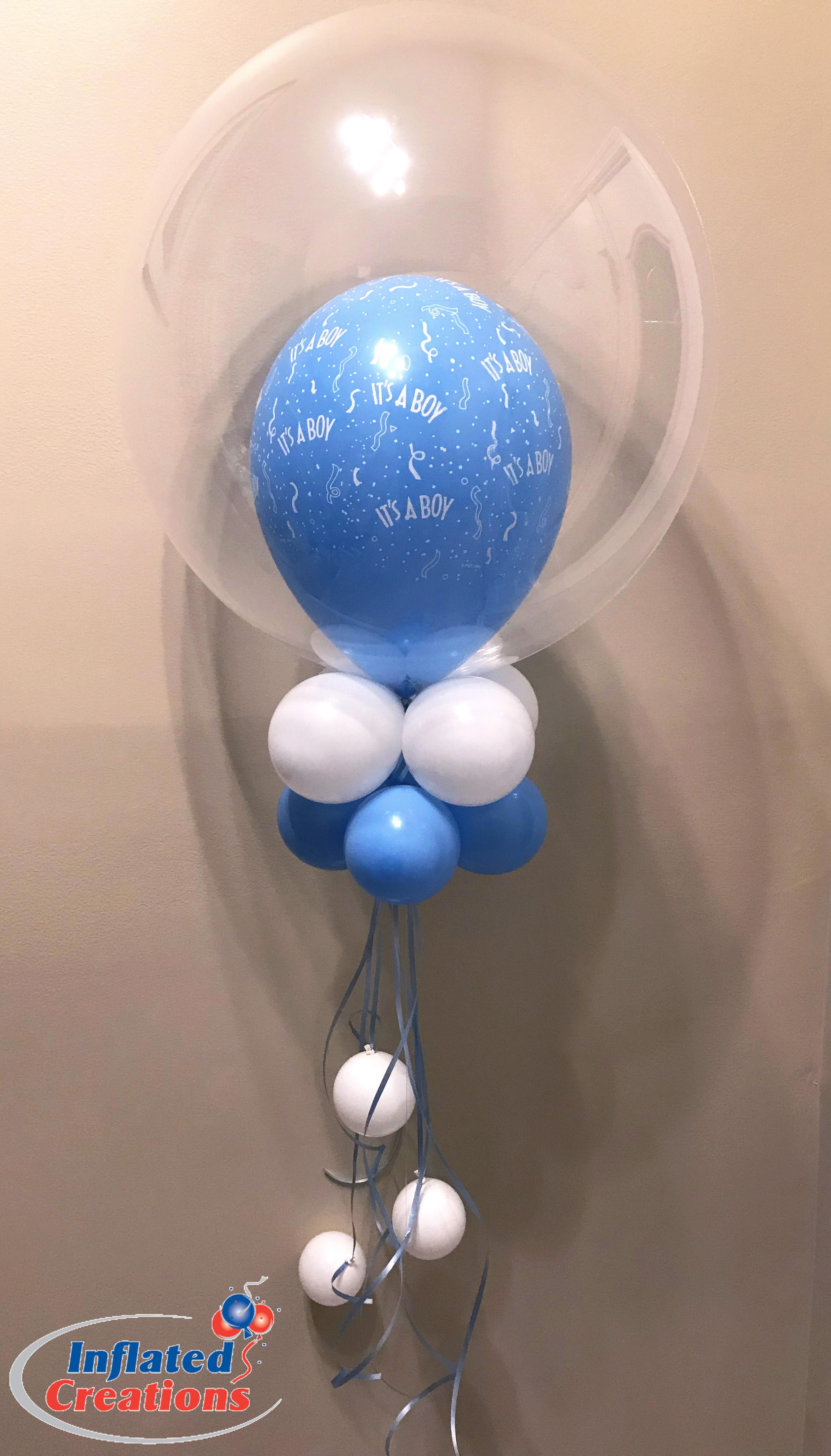 Double Balloon It's a Boy!