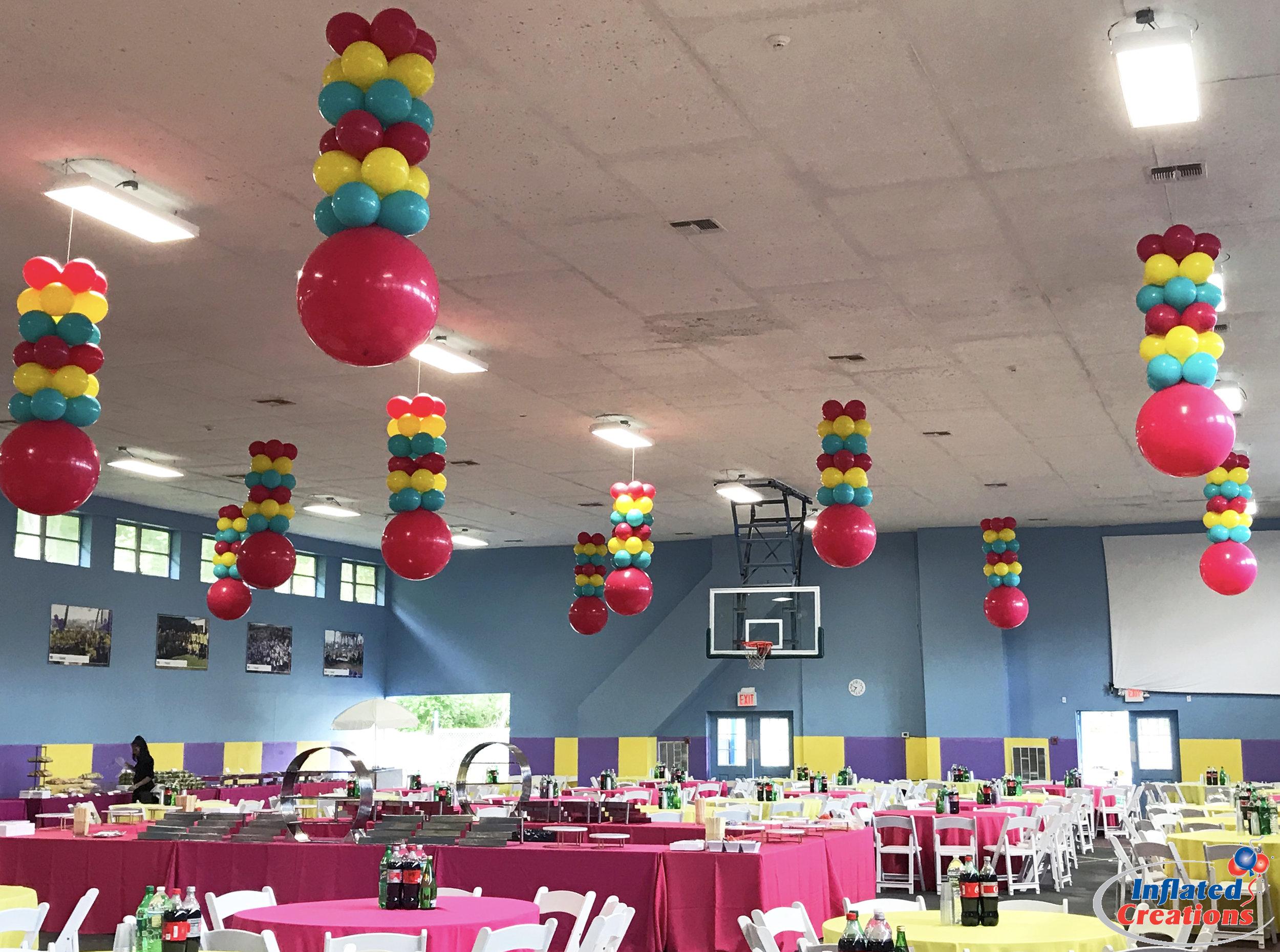 Hanging Columns