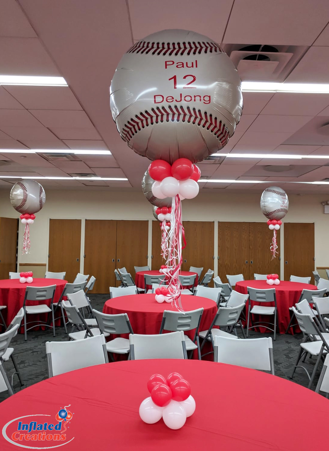 Mylar - Cardinal's Baseball Balloons