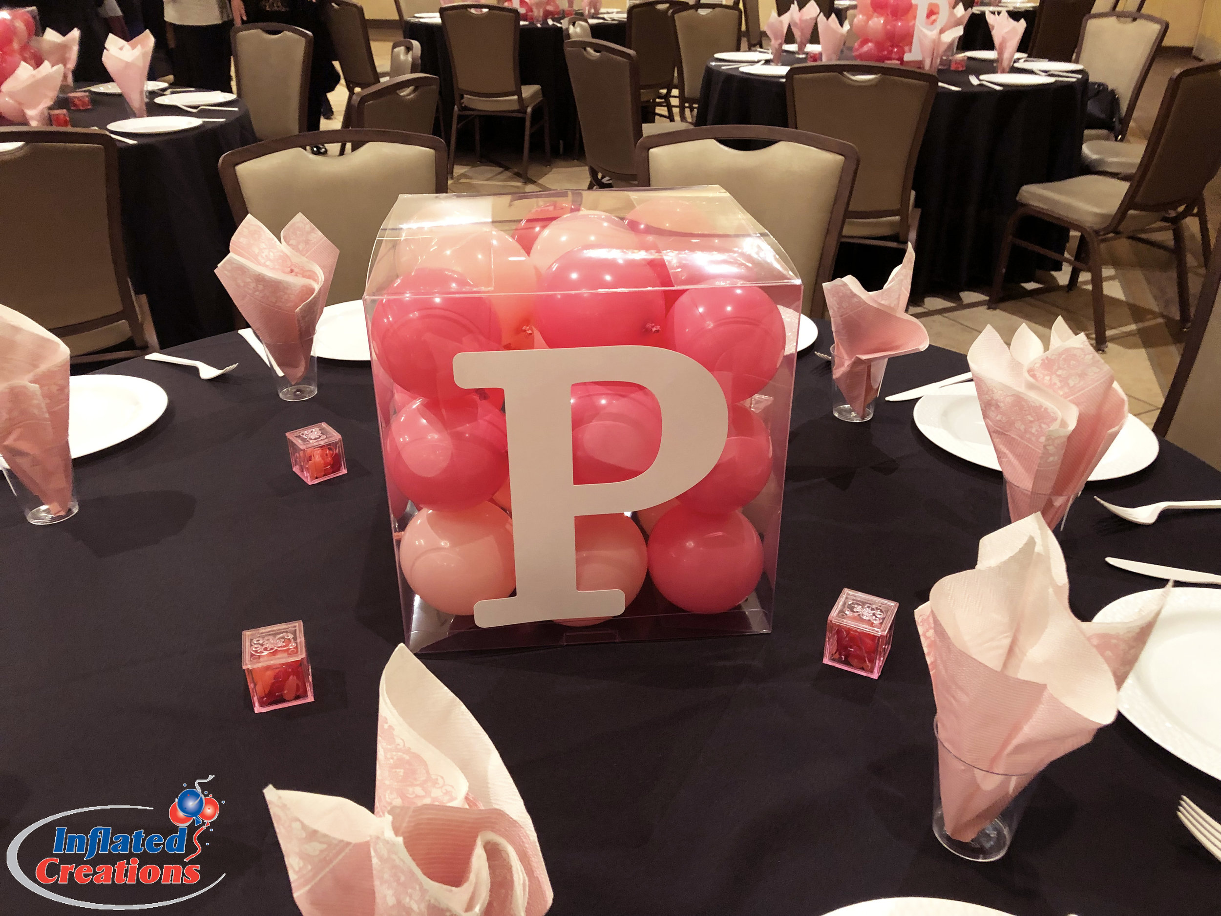 Centerpiece - Balloon Block