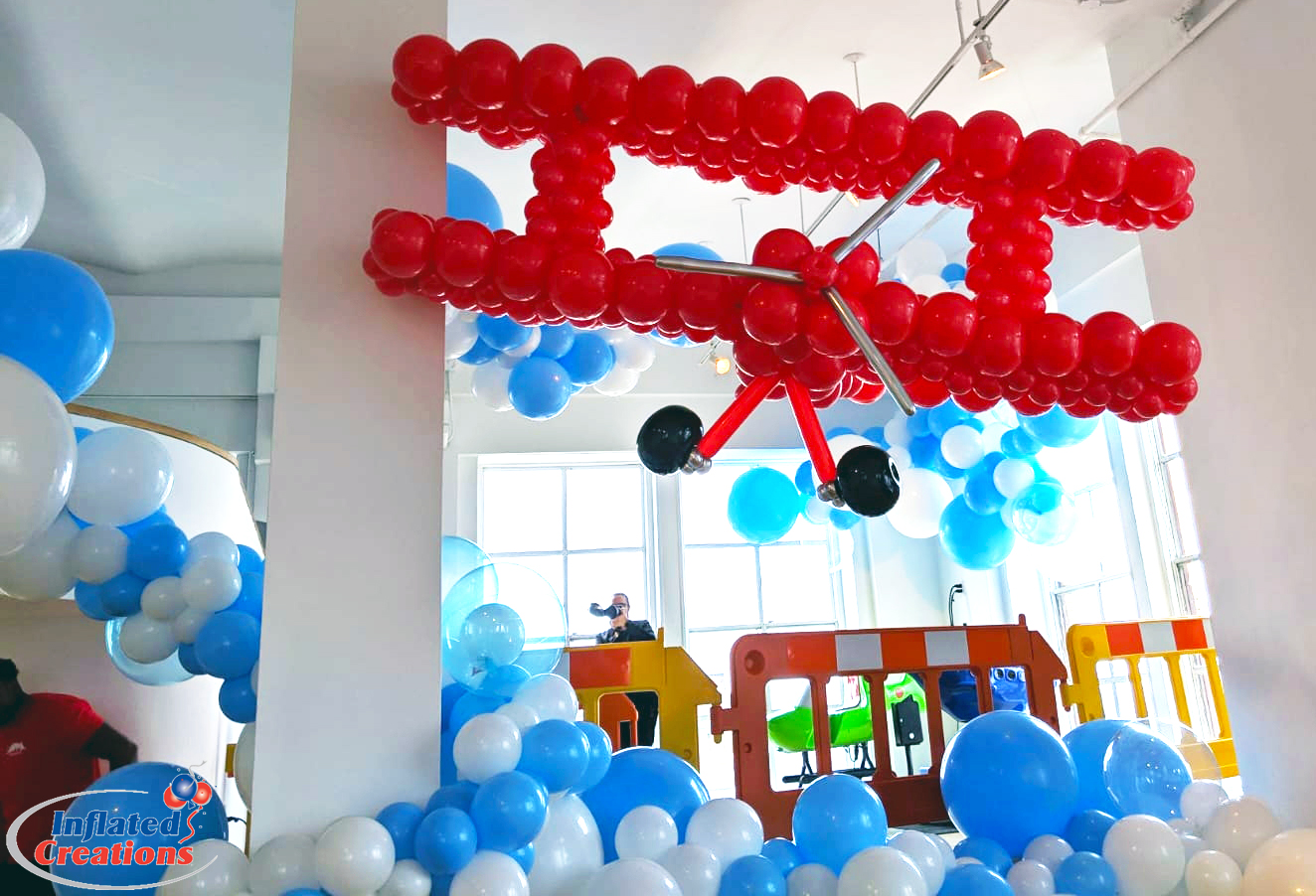 Inflated Creations   Ideas that Fly!   Learn More