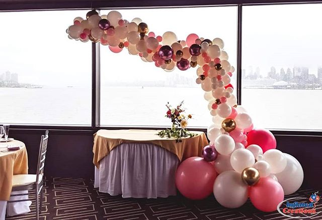 Bridal Shower with @wildly_florals at Chart House - perfect for #weddingwednesday