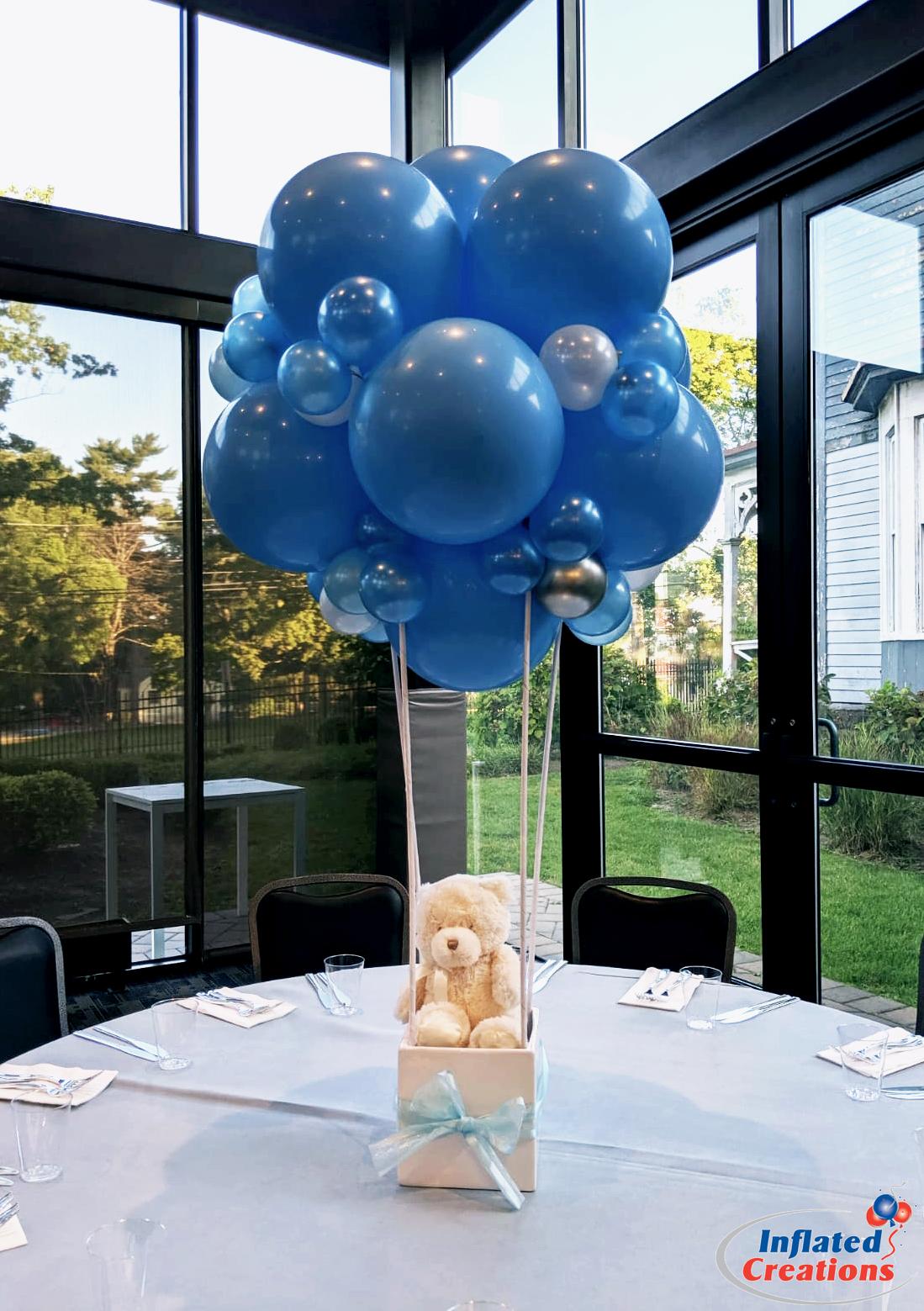Bear in Hot Air Balloon Basket