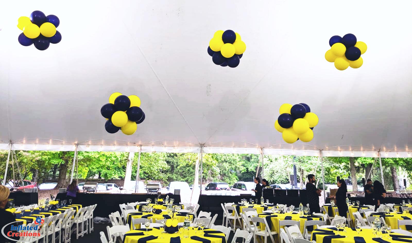 Puffballs - Tent Balloon Decor