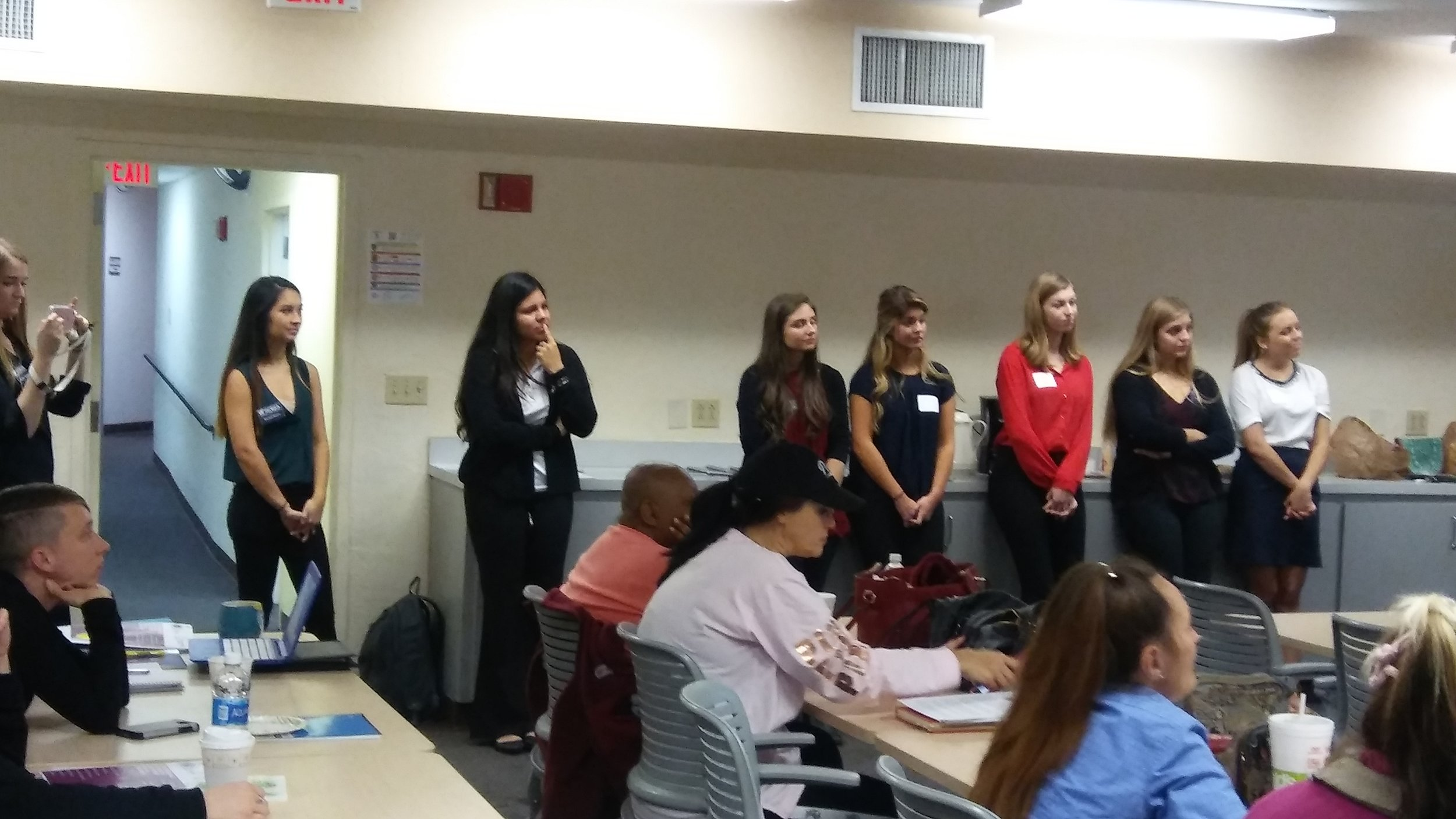Professional Development class in Action -