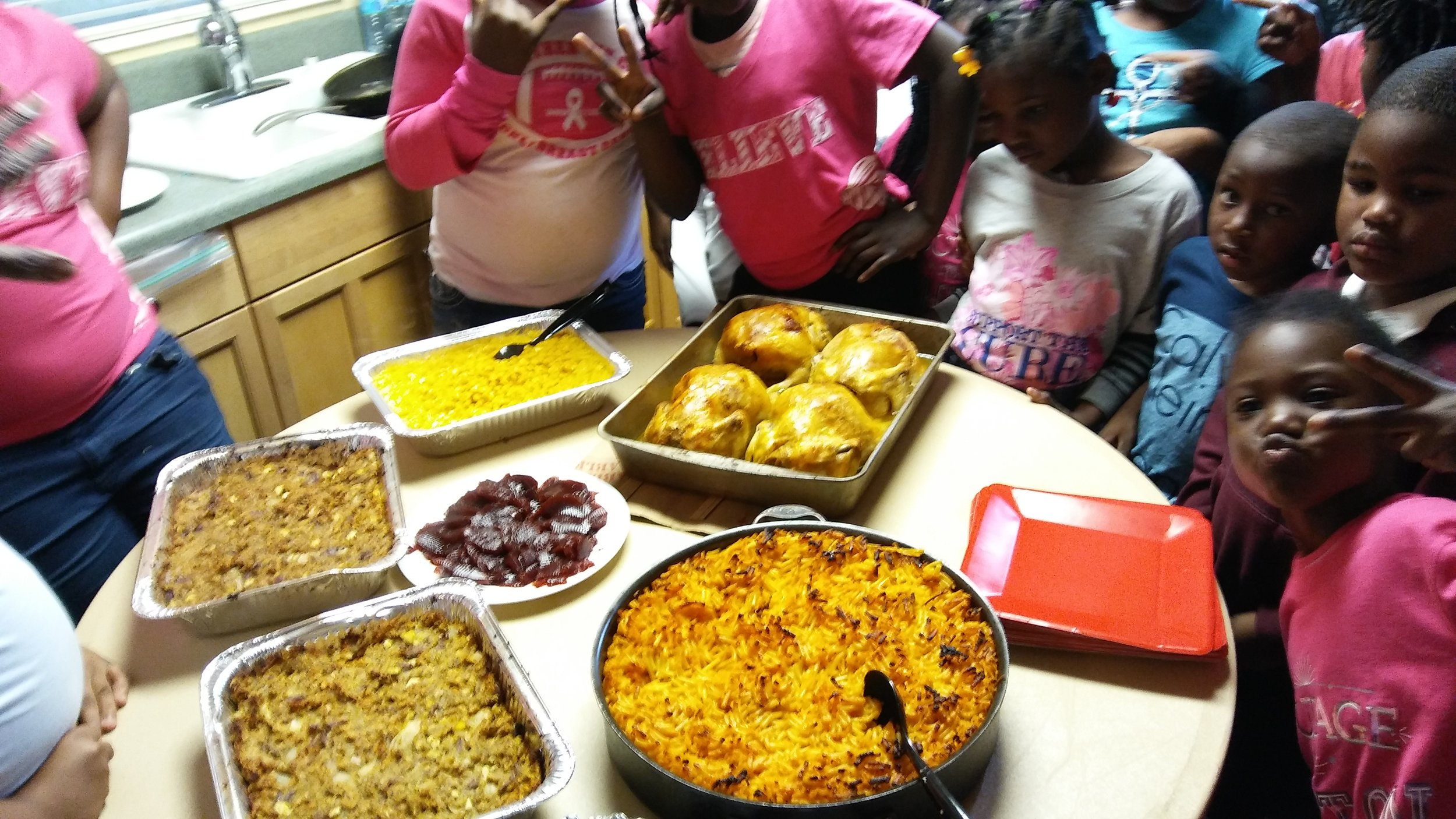 home economics they cooked their own holiday meal.jpg