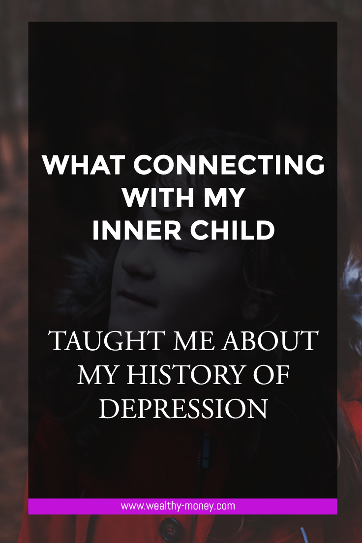 Connecting with my inner child and the link to depression