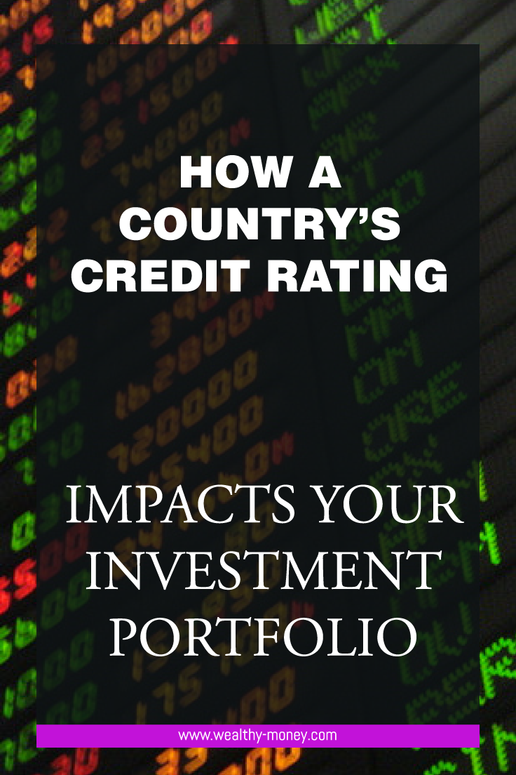 How a country's credit rating impacts your investment portfolio