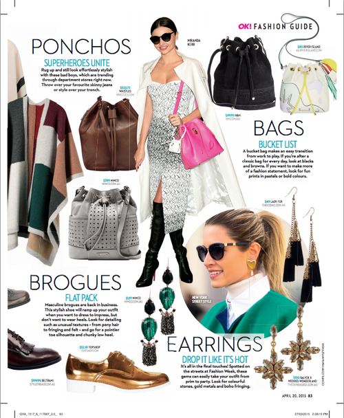 Balyck Jewellery's Trinity Collection featured in OK! Magazine