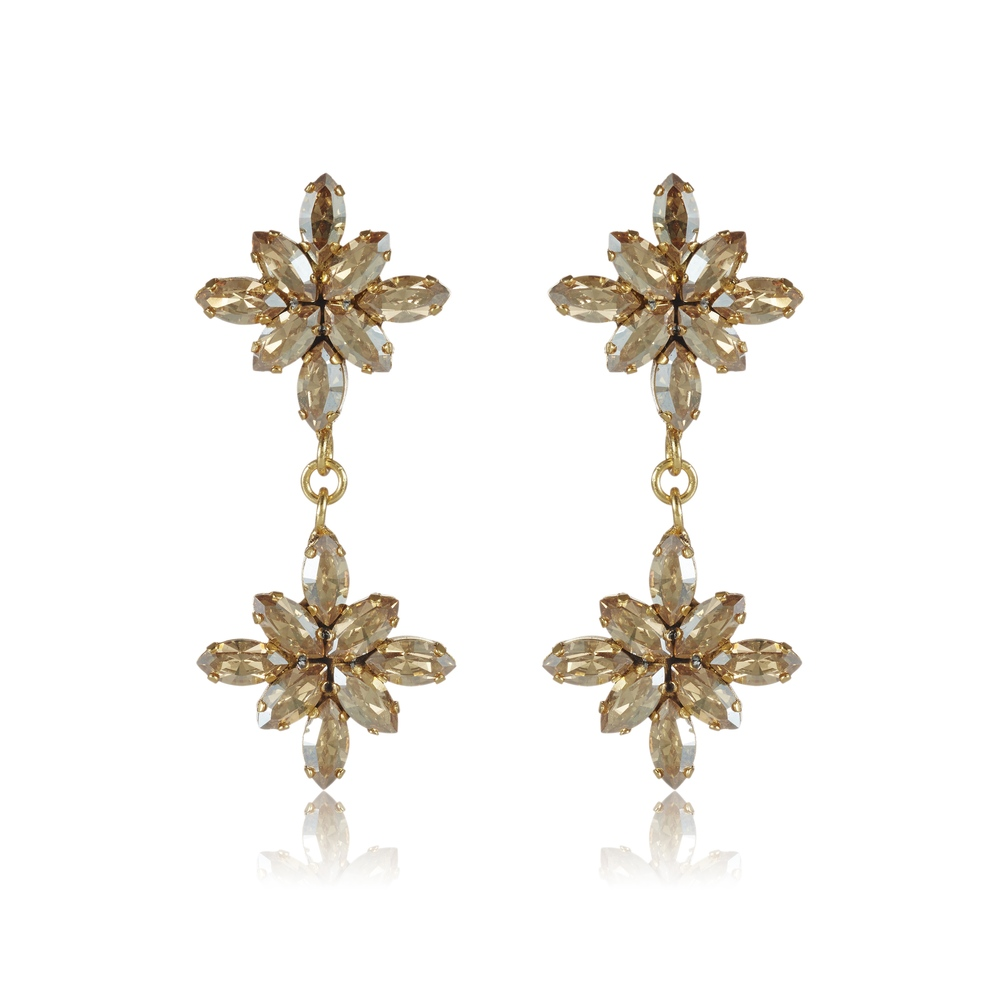 Trinity collection double earring - $190.00 AUD