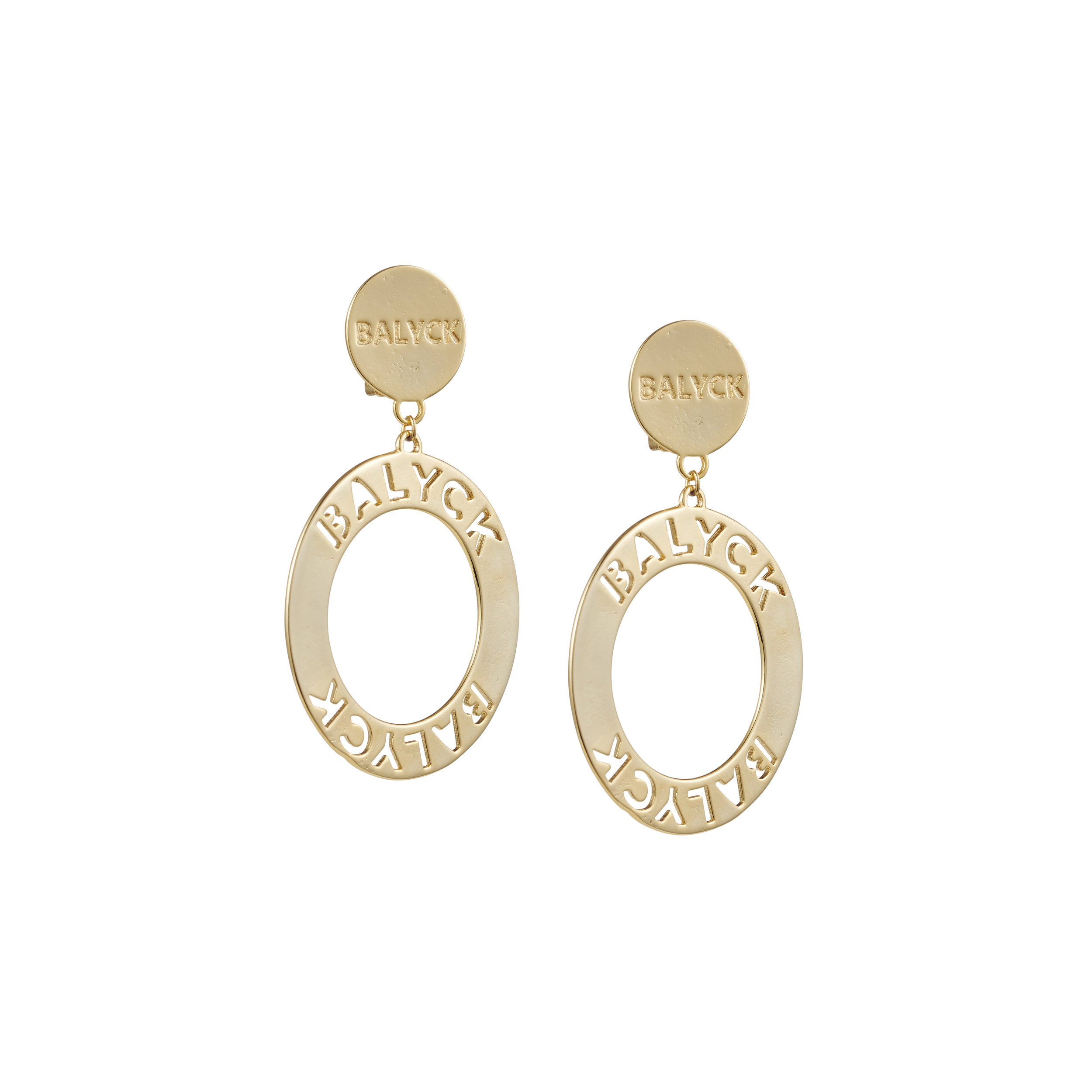 balyck logo earrings - $290.00 AUD