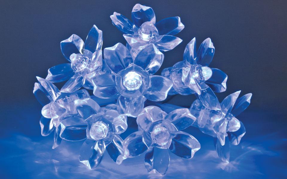 Blossom, Blue LEDs