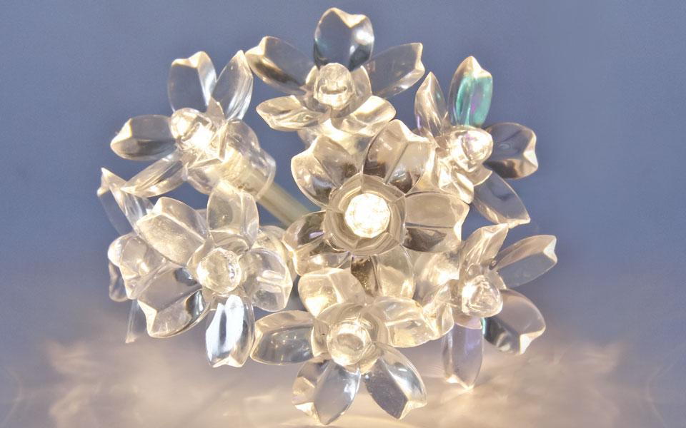 Blossom, Warm White LEDs