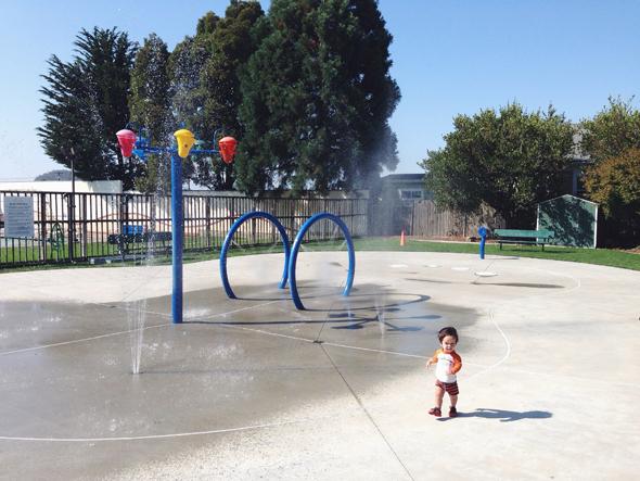 photo from El Cerrito Splash Park