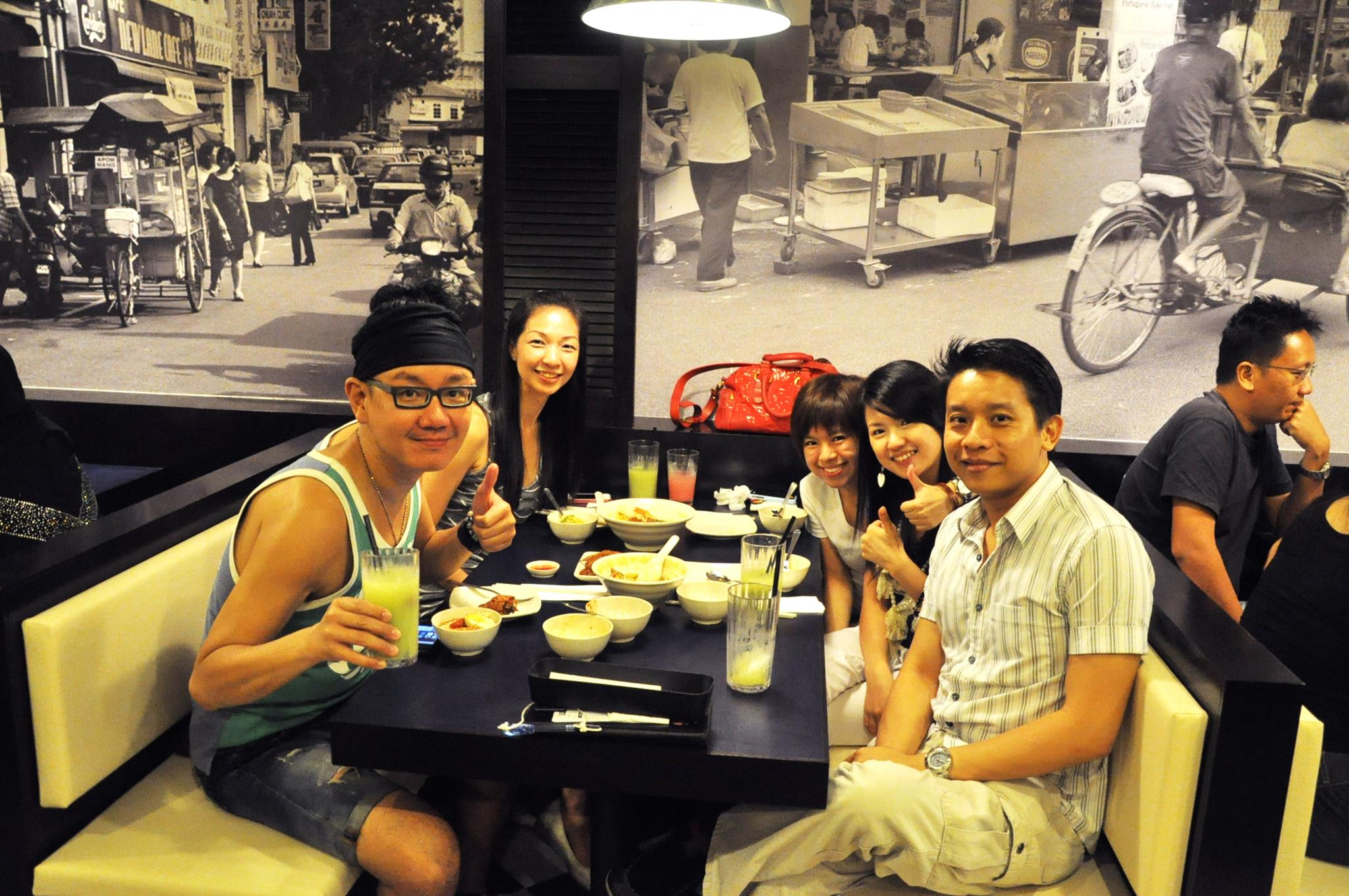 Asia's Top Music Producer Lee Wei Song dines at Penang Culture @ Century Square