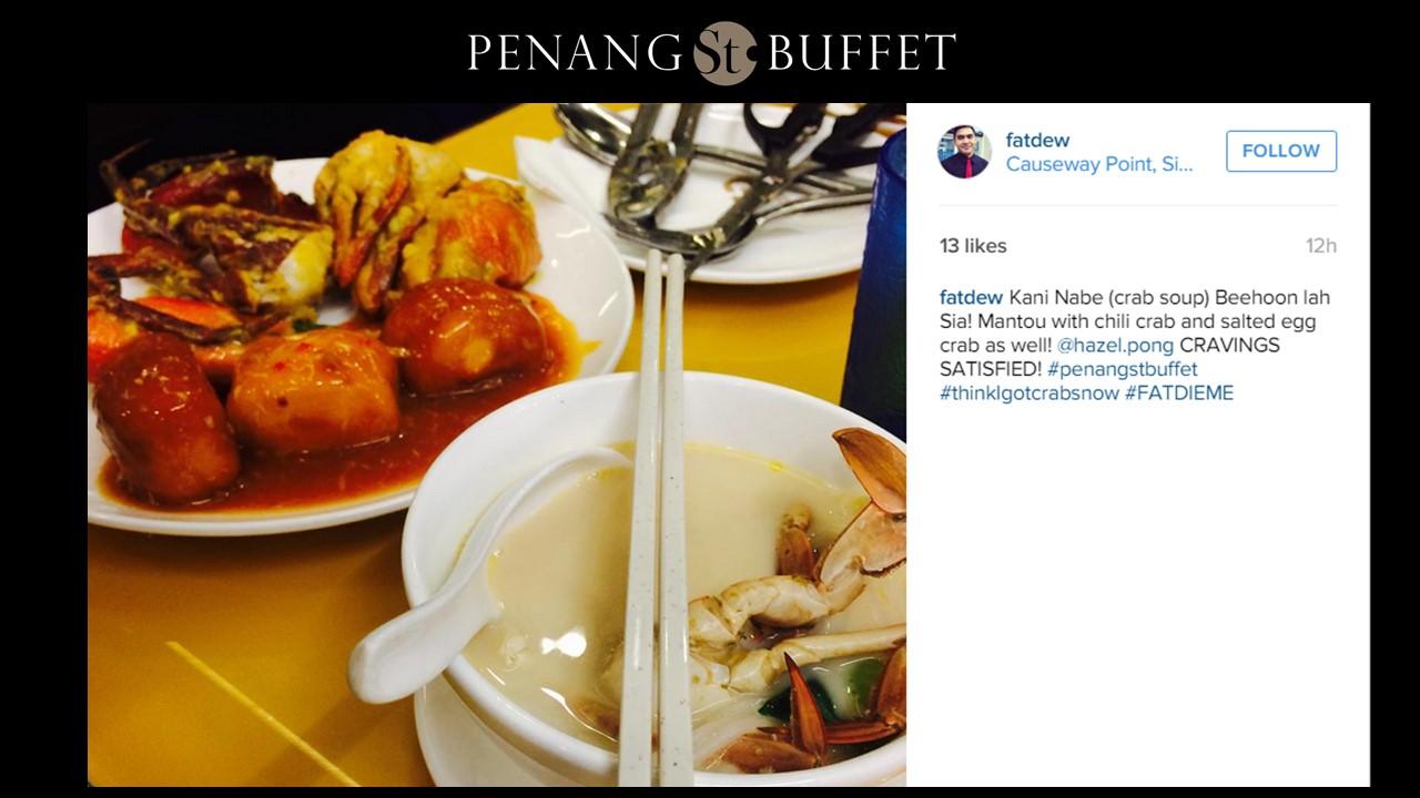 Halal Buffet in Singapore ? Crab Buffet 2